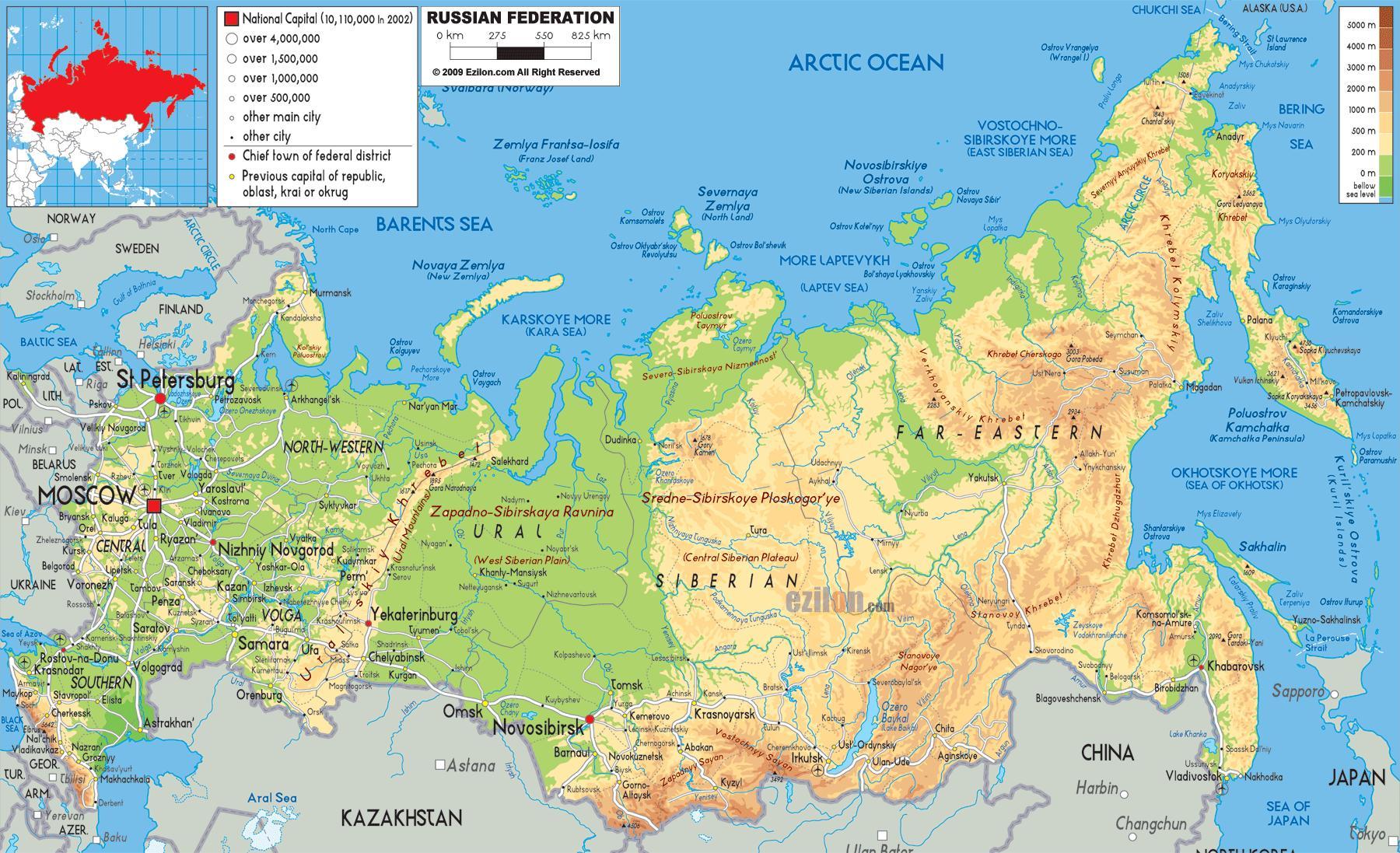 kart over russland Russland museer kart   Kart over Russland museer (Øst Europa   Europa) kart over russland