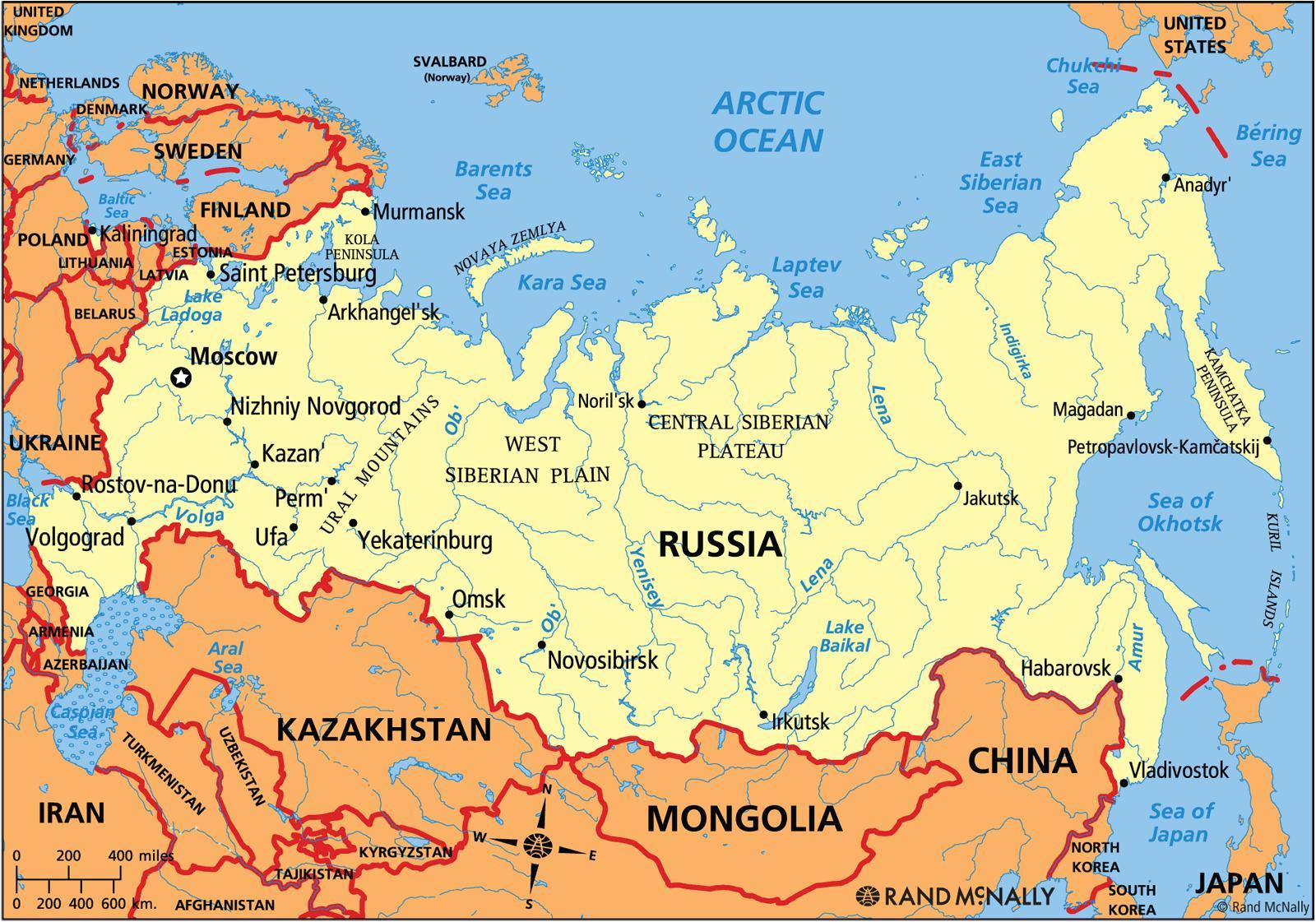 russland kart Russland skoler kart   Kart over Russland skoler (Øst Europa   Europa) russland kart